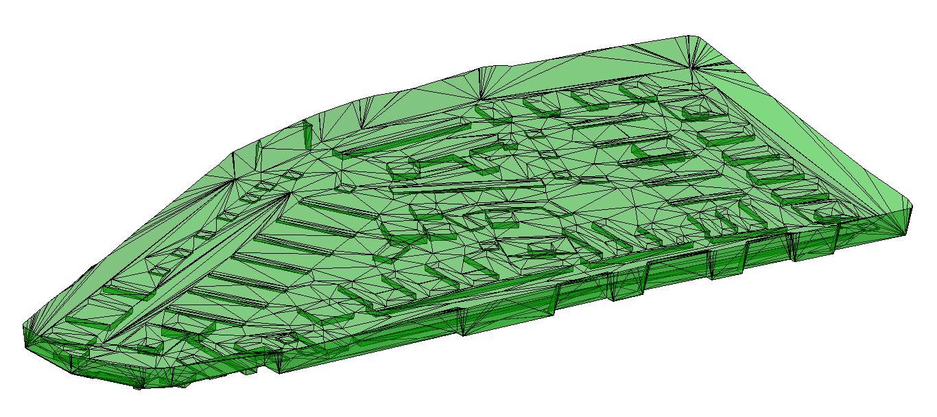 Geländemodell WTC