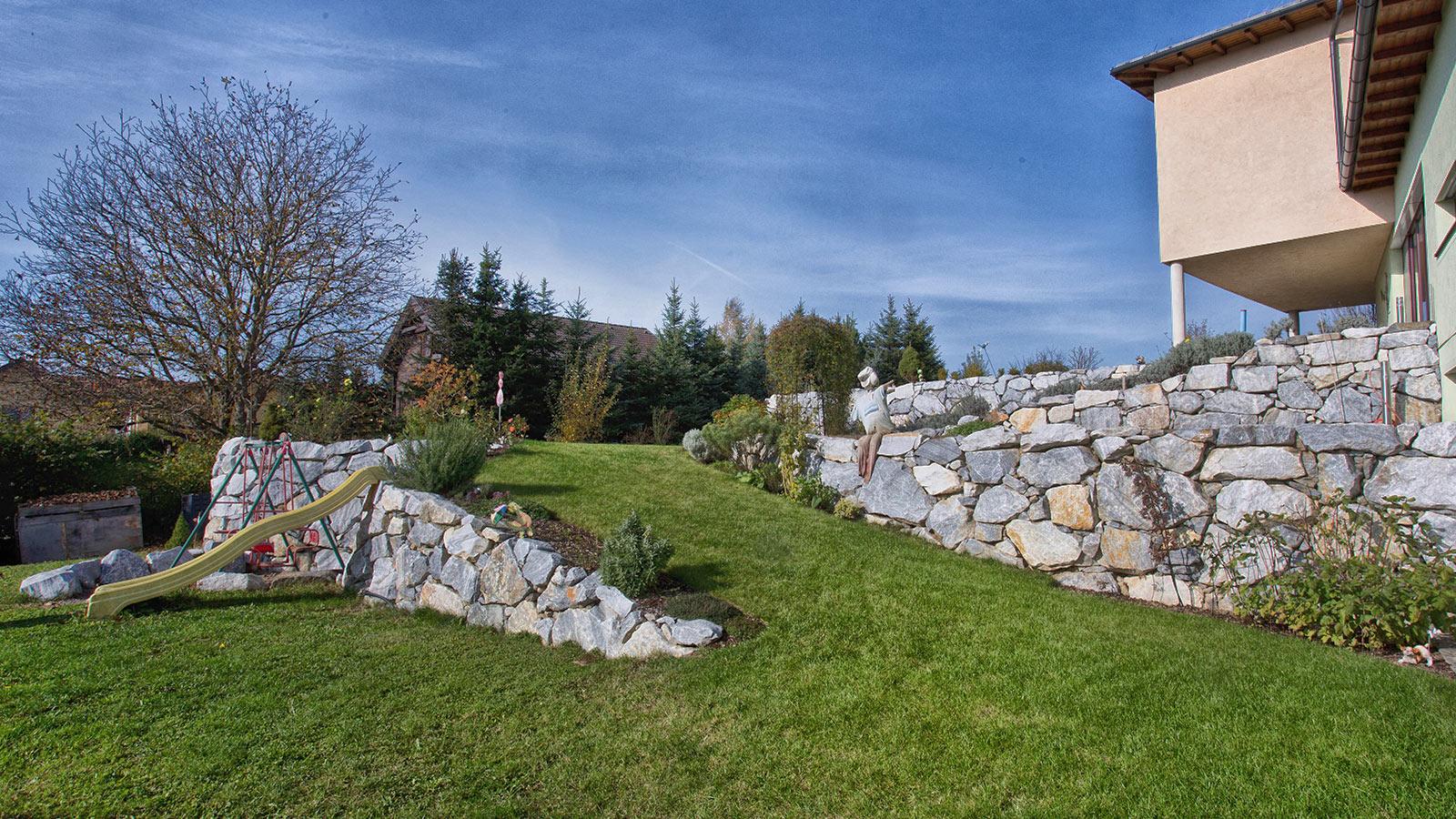 Gnant Steinmauer